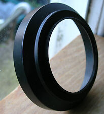 62mm screw in wide angle lens hood metal  ( has a 72mm internal filter thread)