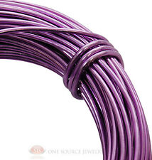 Aluminum Craft Wire 18 Gauge Lavender 39 Feet 11.8 Meters Wrapping Sculpture