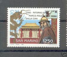 1996 SAN MARINO MARCO POLO EM.CONGIUNTA SINGOLO