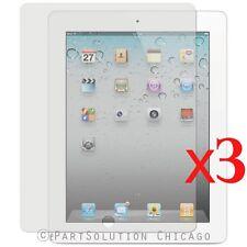 3 x iPad 2 Screen Protector Film Guard Anti Glare Touch screen