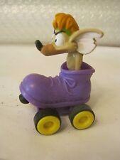Burger King Meals Oliver & Co. Rat In Roller Skate Pull Back Toy,   (010-17)
