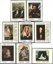 Poland 2187-2194 (compl. excl.) Stamped 1972 Polish Paintings Eur 1,30