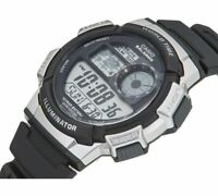 Casio Men's AE-1000W-1A2VEF Resin Sports World Time Watch Black Band RRP£35 DEAL