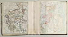 Antique 1899 World Map with 48 States by Rand Mcnally & Co Very Rare - 3290