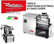 Indici15 Grattugia Elettrica INOX 10053  200W Professionale Reber
