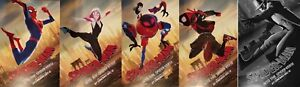 Spider-Man: Into The Spider-Verse-Limited Edition A3 Poster Print (Complete Set)