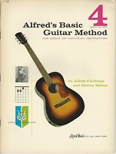 Alfred's Basic Guitar Method Book 4 by Alfred d'Auberge and Morton Manus