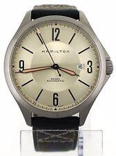 Hamilton Khaki Aviation Automatic Date Watch H766650 H76665725 Field Military
