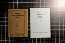 THE RAILWAY and LOCOMOTIVE HISTORICAL SOCIETY - 2 BULLETIN REPRINTS- No. 1 & 74