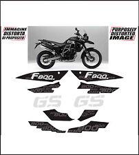kit adesivi stickers compatibili f 800 gs triple black 2012