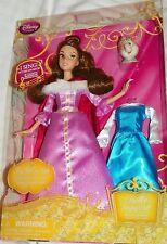 """NEW"" Disney Store 11"" SINGING BELLE Mrs Potts & EXTRA DRESS Figure Barbie Doll"