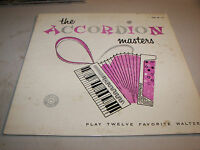 The Accordian Masters Play 12 Favorite Waltzes LP EX Colonial COL-LP-115