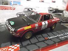 LANCIA Fulvia 1.6 HF Rallye Marocco 1972 Lampinen Winner #1 IXO Altaya SP 1:43