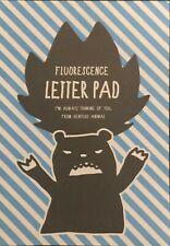 Flourescence Bear Letter Pad Stationery - Cute Kawaii Japanese Writing Paper