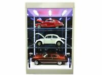 Display Case & Lights, Suitable for 1/18, 1/24, 1/50, 1/43, 1/76, or Combination