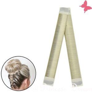Donut Hair Bun Maker  Hair Styling Brautfrisur Frisurenhilfe Haarknoten Blond