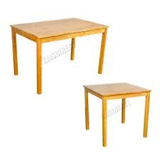 Mesas de comedor de roble para el hogar