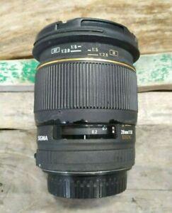 Sigma EX DG 28mm f/1.8 Lens For Canon