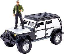 Fast & Furious 7 Stunt Stars Jeep Wrangler Rubicon TEJ Ludacris Action figure F8