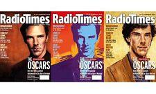 Radio Times Magazine,Benedict Cumberbatch,Rembrandt,Andy Warhol,Van Gogh OSCARS