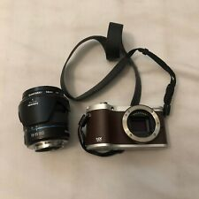 Samsung NX NX300 20.3MP Digital Camera - Brown (Kit w/ 18-55mm Lens) Tested