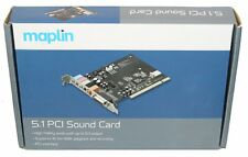Maplin 5.1 PCI Sound Card Supports to 16bit/48K   Playback & Recording