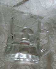 VINTAGE MINIATURE BEER MUG SHOT GLASS FEDERAL GLASS USA