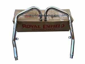 Royal Enfield LH & RH Exhaust Band Pipe For GT Continental 650 & Interceptor 650