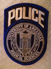 Patch- University of Arkansas Medical Sciences US Patch (New* 120x87 mm)