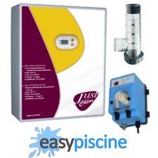 PACK ÉLECTROLYSEUR DE SEL AUTONETTOYANT + POMPE REGULATION pH PISCINE 60 m3