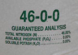 Nitrogen 46 0 0 Urea Fertilizer great for lawns, gardens, deer food plots