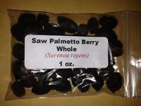 1 oz. Saw Palmetto Berry Whole (Serenoa repens)