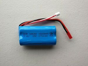 Au Store 1500mAh 2S 7.4V Li-ion Battery For RC Helicopter Car Boat Tank