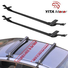 Universal Adjustable Aluminum 43.3INCH Roof Rack Cross Bar Car Top Luggage