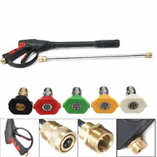 3000PSI High Pressure Power Washer Gun Spray Nozzle Water Cleaner Gun Wand Kits
