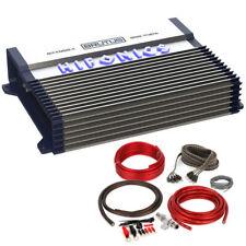 HIFONICS BXX800.4 800W RMS Brutus 4-Channel Class AB Car Amplifier + Amp Kit!