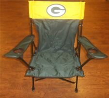 Green Bay Packers NFL Tailgate Chair NEW W/ Carry Bag Holds 250 Pounds