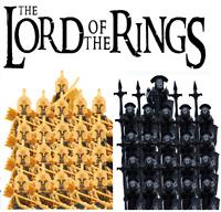 21Pcs Minifigures Lord Of The Rings Gondor High Elves Uruk-Hai Armies Lego MOC