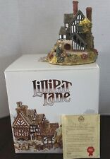 Lilliput Lane Wenlock Rise Collectors Club 1988 Warwickshire original box signed