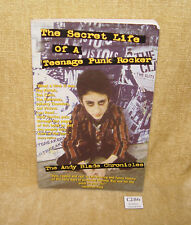 RARE SECRET LIFE OF A TEENAGE PUNK ROCKER ANDY BLADE CHRONICLES FIRST EDIT 2005