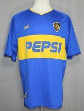 Olympus CABJ Club Atlético Boca Juniors Argentina Soccer Shirt Men's Size XL