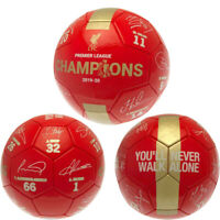 Liverpool FC Official Merchandise Football Ball CHRISTMAS BIRTHDAY GIFT Size 5