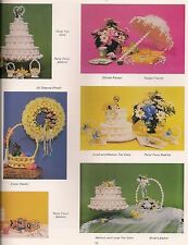 1970s Macrame Cake, Parasol, and Bride Patterns #PD1131 Much Ado About Knotting