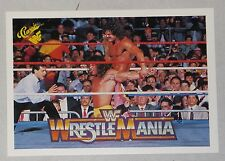 The Ultimate Warrior & Rick Rude 1990 Classic Wrestlemania V 5 WWF Card #105 WWE