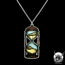 Necklace Collier Curiology Sands Of Time Hourglass Old Sablier Gothic Gothique