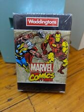 2015 Marvel Comics Waterproof Unopened Playing Cards Waddington Collectable
