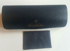 BROOKS BROTHERS NAVY SUNGLASS/FRAME HARD CASE WITH CLEANING CLOTH