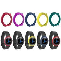Silicone Smart Watch Band Frame Protective Case Cover for Samsung Galaxy Gear S2