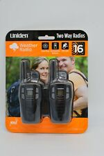 Uniden Sx167-2C Up to 16 Mile Range, Frs Two-Way Radio Walkie Talkies New sealed
