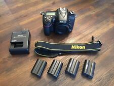 Nikon D7100 DSLR Body Perfect Condition 4 Batteries Only 3000 Shutter Count